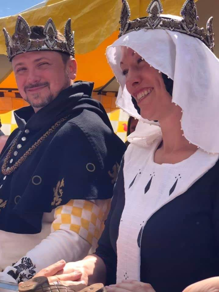 King Morgan and Queen Livia of An Tir