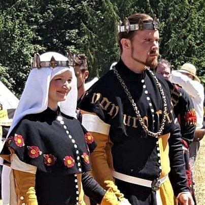 Heirs of An Tir Christian Bane and Helene d'Anjou